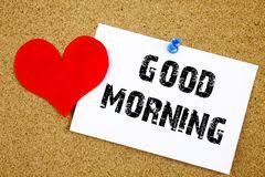 good morning handwritten stock images 76 photos