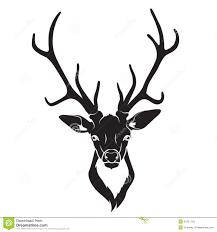 deer head vector clipart free clipart