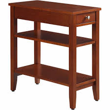 convenience concepts american heritage 3 tier end table with