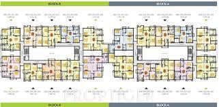 100 typical floor plans of apartments floor plan 3 4 bhk
