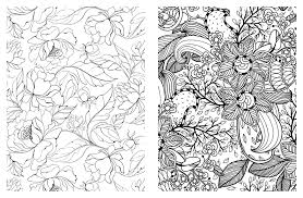pretty coloring pages adults printable coloringstar
