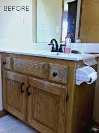 diy industrial farmhouse bathroom vanity u2014 melissa voigt