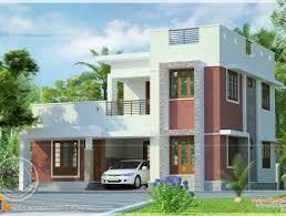 Attractive House Designs by Roof Flat Roof Modern House Floor Plans Besides Beautiful House