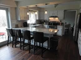 modern kitchen with island modern u shaped kitchen with island caruba info