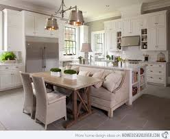 eat on kitchen island brilliant 15 traditional style eat in kitchen designs design