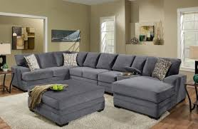 inviting ideas sofa guardsman photograph of gray suede sofa via