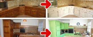 repeindre meuble cuisine rustique relooking de cuisine rustique repeindre cuisine avant apres