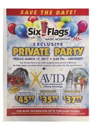 Discounted Six Flags Tickets Avid News U2013 Avid U2013 Bell High