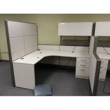 Tayco Beige Pod Office Systems Furniture Desks Cubicles - Tayco furniture