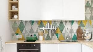 cuisine coloré deco cuisine mettre de la couleur dans sa cuisine côté maison