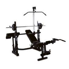 Olympic Bench Press Equipment Olympic Weight Bench Ebay