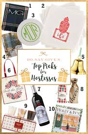 christmas hostess gifts holiday hostess gifts do say give