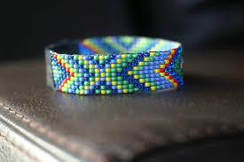 bead weave bracelet images Native american loom beaded bracelet bead happyoak jpg