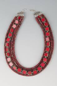 fashion jewelry red necklace images Necklaces e j win jewelry jpg