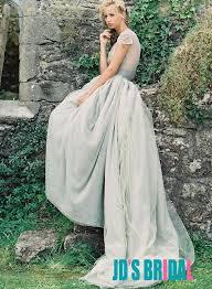 dusty wedding dress jol215 inspired vintage dusty blue tulle bridal wedding dress