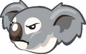 angry koala sticker by imoji for ios u0026 android giphy