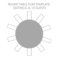 place setting template table setting template word classic style dazzling design wedding