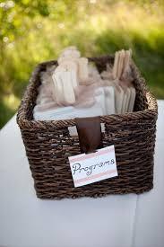 Basket For Wedding Programs 22 Best Ceremony Images On Pinterest Programming Wedding Stuff