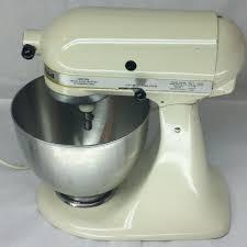 Kitchenaid Mixer Classic by Kitchenaid K45sswh Kitchenaid Stand Mixers And Almonds