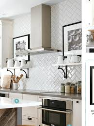 kitchen patterns and designs beveled white subway tile backsplash images about subway tile on