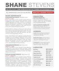 Bussiness Resume Resume Creative Resume Headers