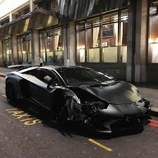 lamborghini aventador student crashes lamborghini aventador sv roadster in london gtspirit