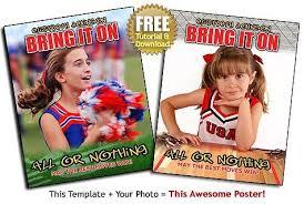 sports poster templates u2013 cheerleading football baskeball poster