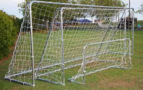 portagoals portable football goal soccer goals for schools