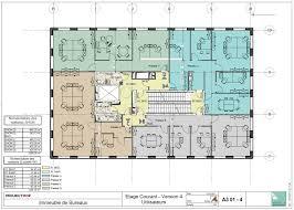 plan des bureaux plan darchitecte immeuble