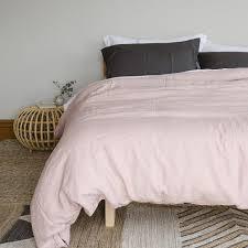 pink linen duvet cover stonewashed u2013 little additions