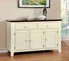 Dining Room Servers And Buffets by Amazon Com Furniture Of America Pauline Cottage Style Dining