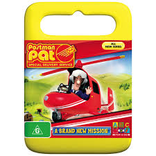 postman pat special delivery service brand mission dvd