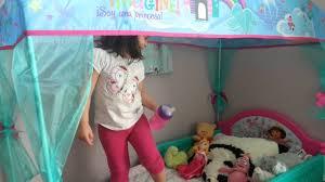 emily u0027s new dora bed youtube