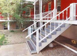 grit strip metal stair treads are aluminum stair treads by