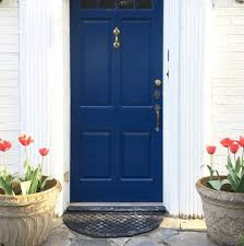 Exterior Door Colors Trend A New Standout Color For Your Front Door Blue Door Living