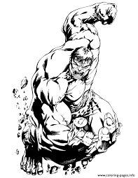 incredible hulk classic comic coloring pages printable