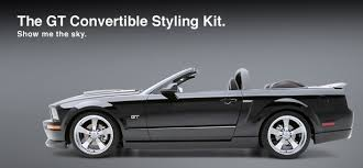 ford mustang 2009 convertible 2006 2007 2008 2009 ford mustang gt convertible styling kit 5 pc