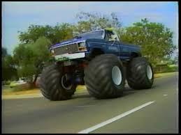 youtube monster trucks jam legend of bigfoot the original monster truck youtube hey look
