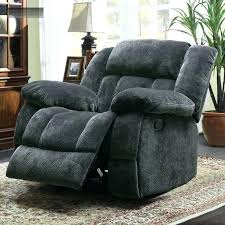 oversized chair recliner rocking gray boy recliner chairs