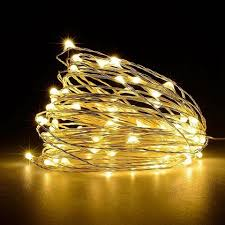 usb powered led fairy lights copper wire color emitting sets