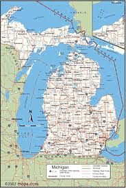 map of michigan michigan maps lessons tes teach
