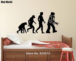 Wall Art Stickers by Online Get Cheap Evolution Wall Art Aliexpress Com Alibaba Group