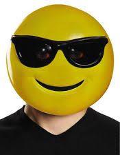 Emoticon Costume Halloween Check Smile Emoji Mask Wholesale Masks Kids Adults