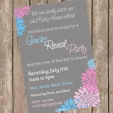 gender reveal baby shower gender reveal baby shower invitation baby reveal invite