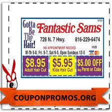 free printable fantastic sams coupon october 2017