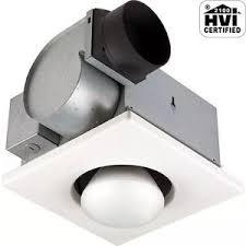 ventilation fan with light bathroom exhaust fan heater ebay