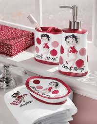 Heart Bathroom Accessories Betty Boop Bathroom Set I Have One In Plastic This Looks Like