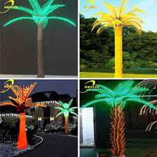 new style lights outdoor artificial palm trees buy