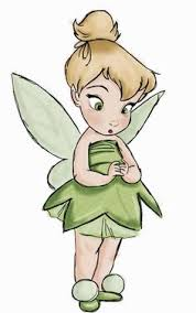disney tinkerbell coloring drawings