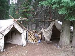 wall tent hunt camp setups biggamehoundsmen com